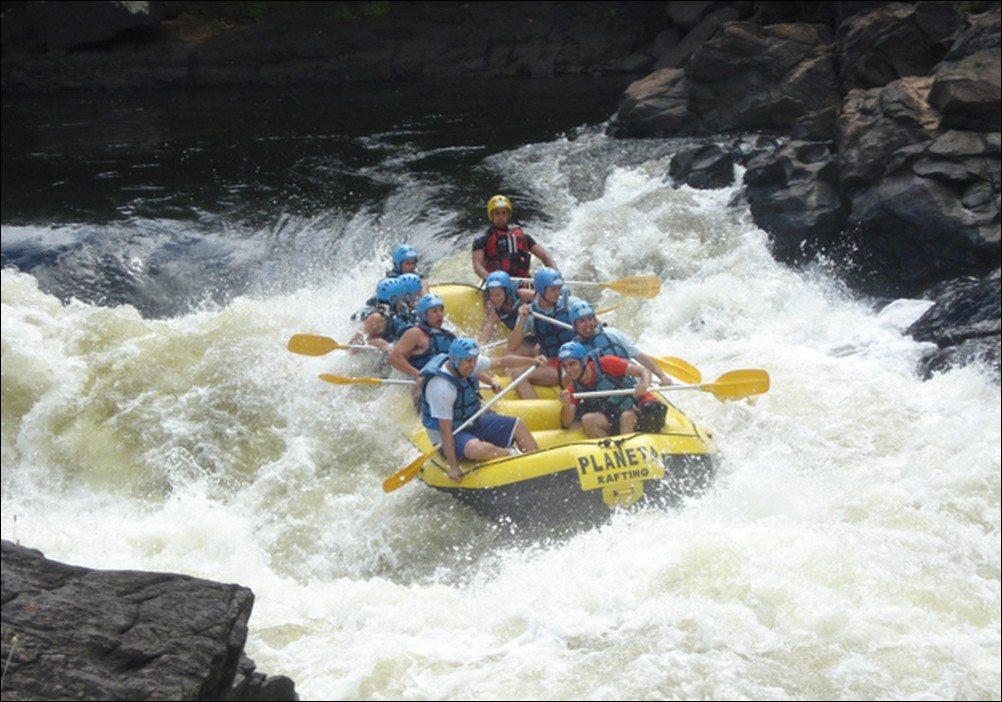rafting em Paraitinga