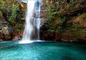 Cachoeira De Santa Barbara Chapada Dos Veadeiros