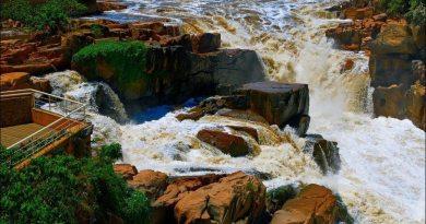 Complexo Turístico Da Cachoeira Em Salto