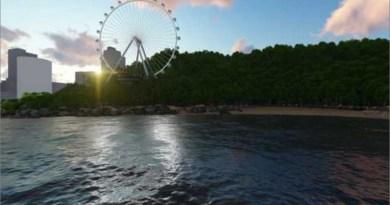 Balneário, Roda Gigante Projeto