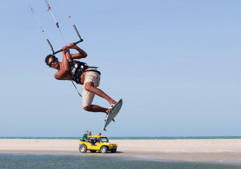 Kite Surfing, Jericoacoara, Brazil