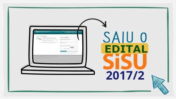 inscricao sisu 2017 segundo semestre
