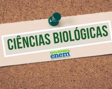 notas de corte Ciências Biológicas sisu 2020