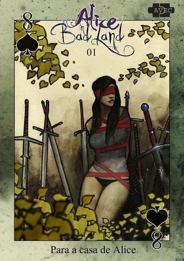4 - Alice in Badland 1 Oito de Espadas Capa