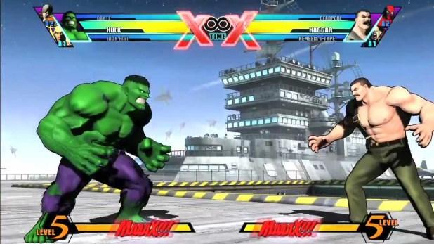 Mérreu. Assim como QUASE TODOS os personagens da Capcom contra quase todos os da Marvel...
