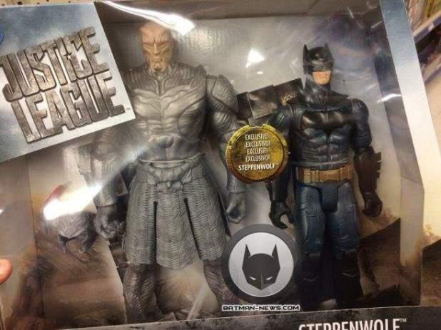 Lobo da Estepe Vs. Batman (Liga da Justiça - Action Figures)