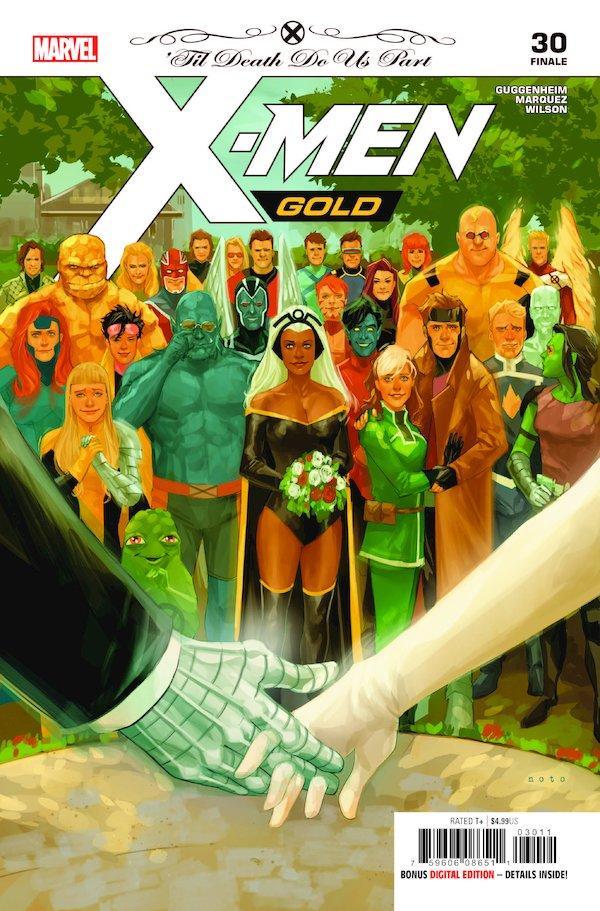 Maldição MdM ataca outra vez: X-Men Gold cancelado