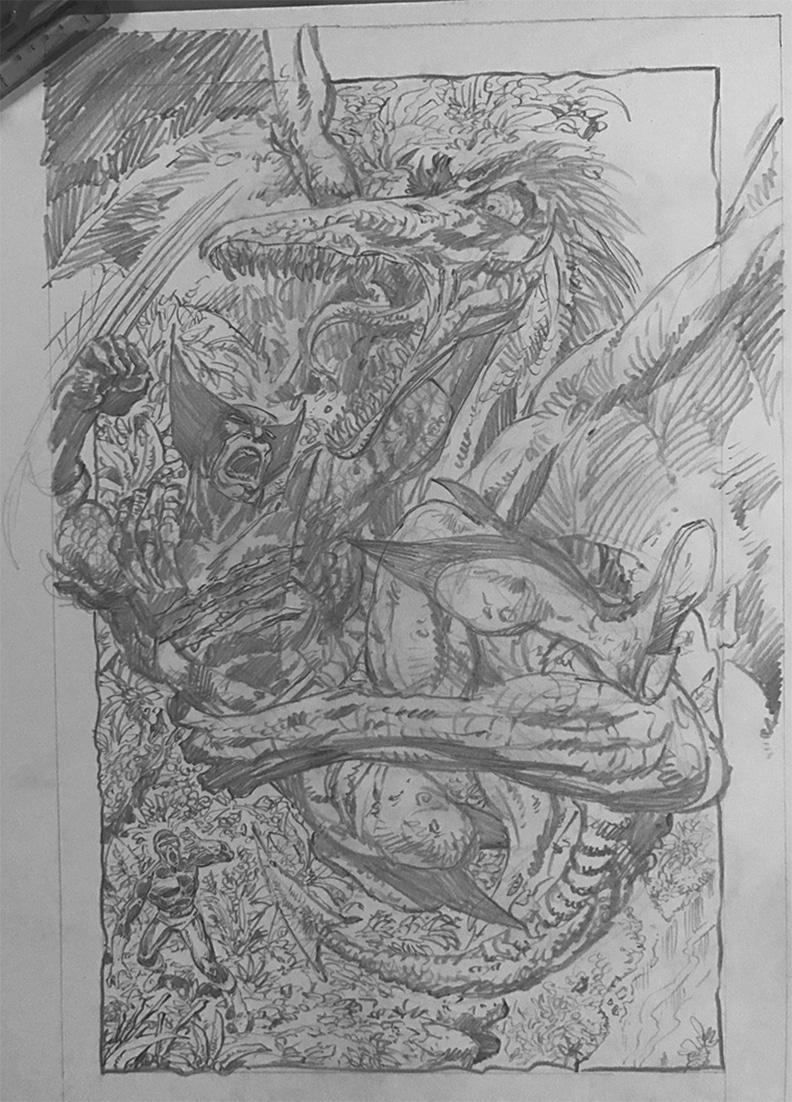 John Byrne volta a desenhar e escrever os X-Men... NA FORMA DE FANFIC!!!!