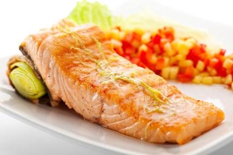O salmão é uma boa fonte de Omega-3