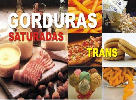 Gorduras saturadas trans