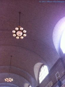 The ceiling was beautiful!