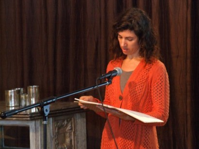 Molly shares spoken word...