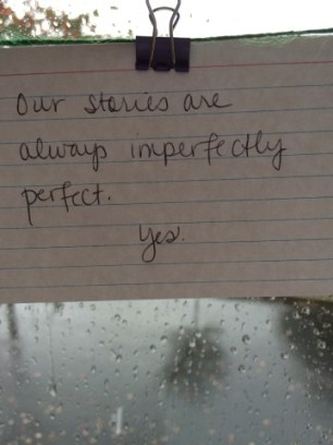 Imperfectly perfect