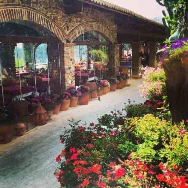Restaurant by de haven-Mooie bloemen