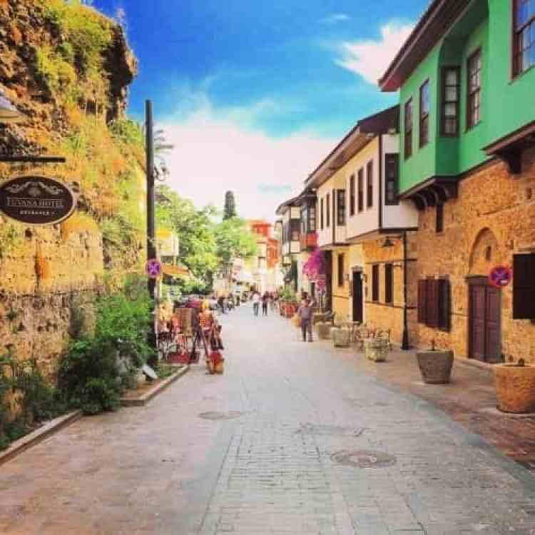 Oude stadcentrum Antalya