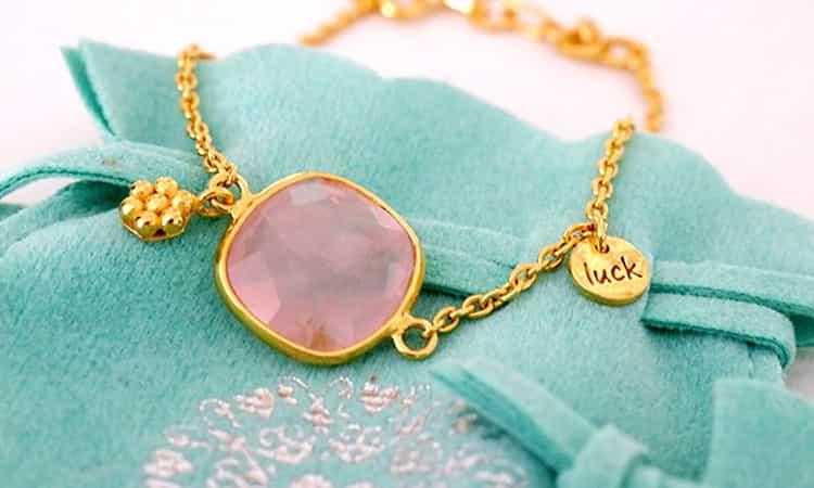 Heart to get armband-vooraanzicht- stone of love