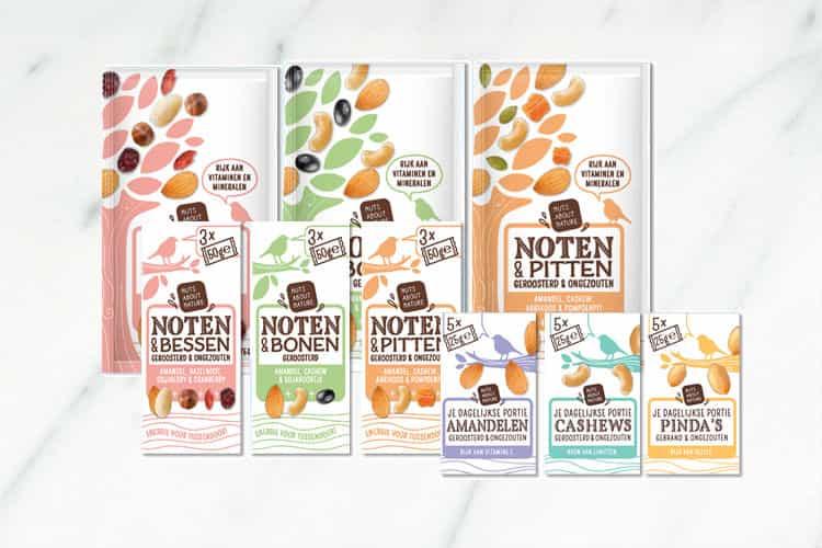 Nuts About Nature - Notenmixen en portiezakjes + WIN