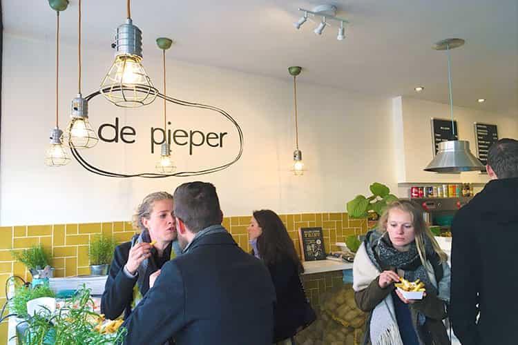 Snackbar de Pieper