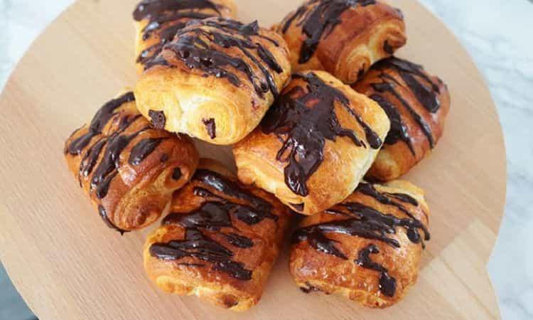 Mini chocolade broodjes