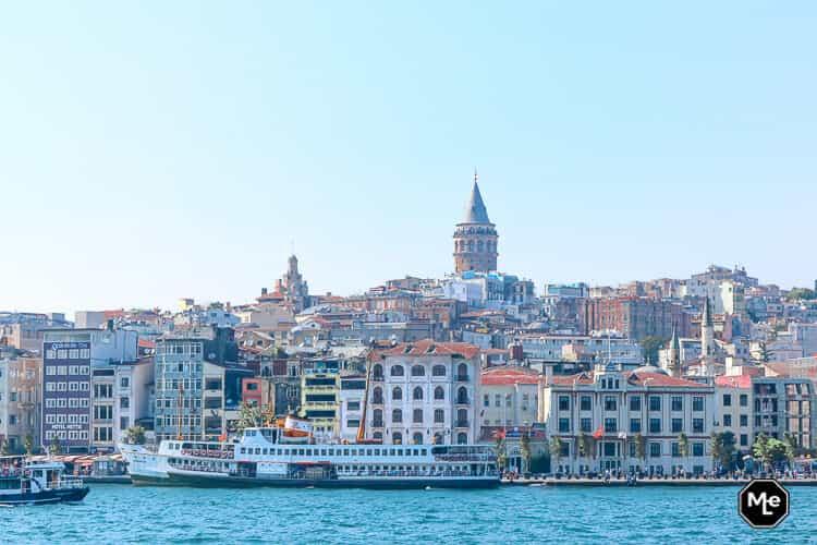 Bezienswaardigheden in Istanbul - Galata toren