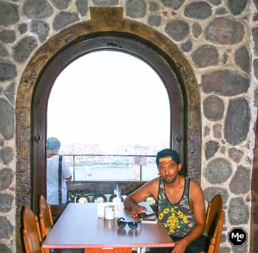 Bezienswaardigheden in Istanbul - Galata restaurant