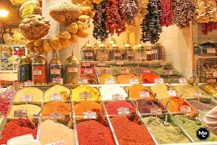 Bezienswaardigheden in Istanbul - Kruiden markt
