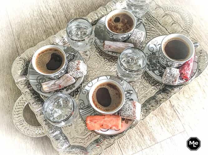 hoe maak je Turkse koffie zelf + hotspots in Istanbul