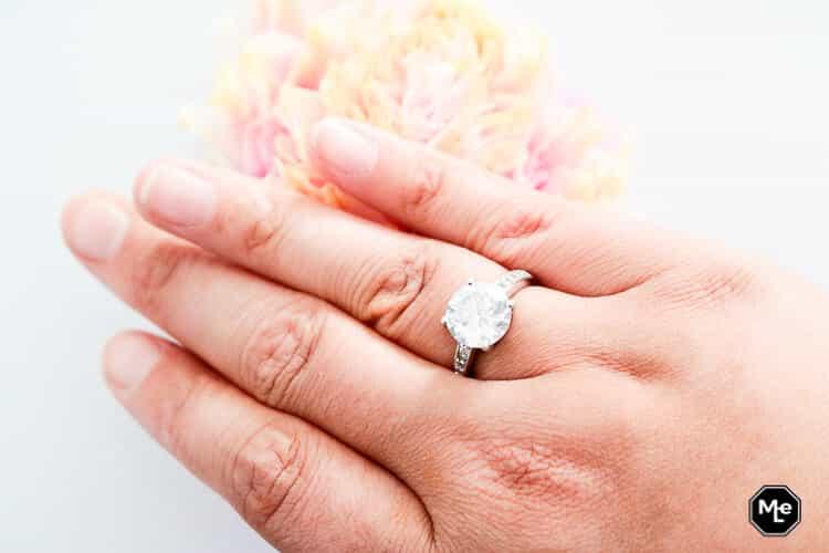zilveren ring van Lucardi