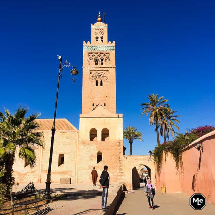Marrakech travel report-Koutbia moskee