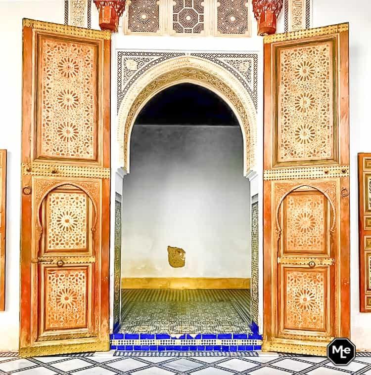 Marrakech travel report-bahia paleis