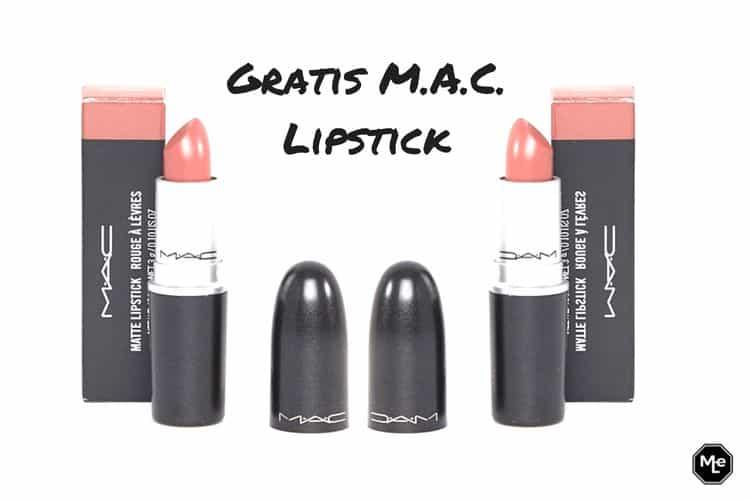MAC gratis lipsticks