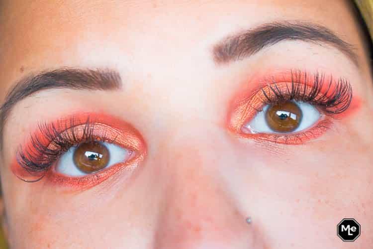 MUA Kingsday Palette - close-up ogen