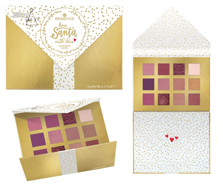 ESSENCE TREND EDITION 'FROM SANTA WITH LOVE' – EYESHADOW PALETTE