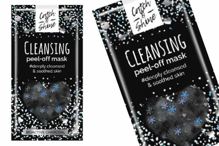 Catch en Shine Peel-Off Glittermasker - Cleansing