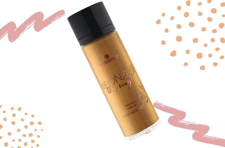 essence bronzed this way - body oil