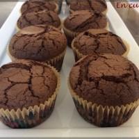 Muffins au chocolat et Nutella