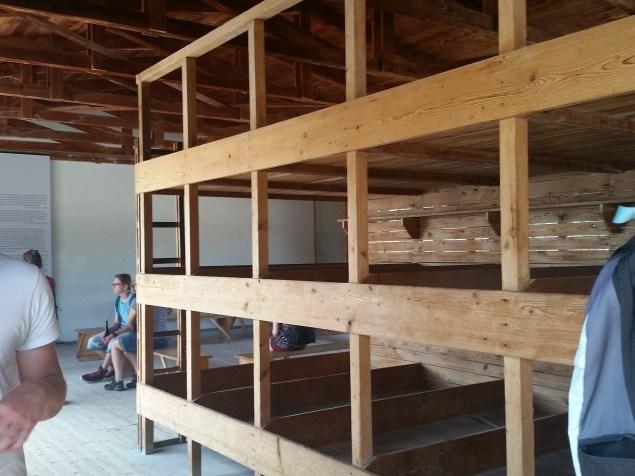Barracks bunks