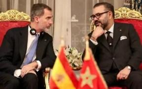 Reyes de España y Marruecos