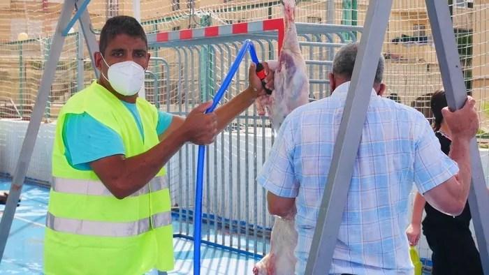 Carpas Aid El Kebir Melilla