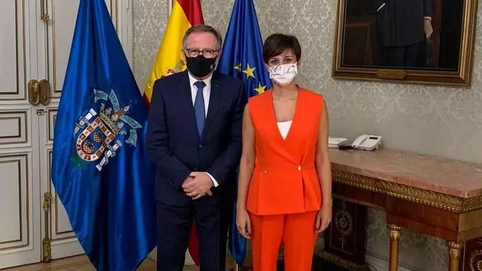 Isabel Rodríguez y Eduardo de Castro