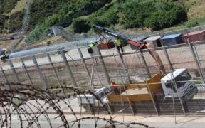 Peines invertidos frontera de Melilla