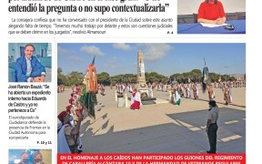 Portada Melilla Hoy jueves 1 de julio de 2021