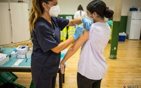 Vacunación de COVID en Melilla
