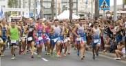 (Autor: Federación Melillense de Triatlón):Imagen de una de las competiciones de Acuatlón, que organiza la Federación Melillense de Triatlón