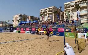 Balonmano playa de Melilla