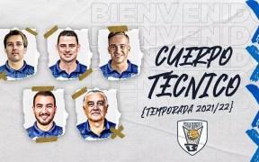 Cuerpo técnico del Melilla Sport Capital Baloncesto.
