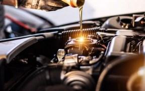 Cambio de aceite de vehículo