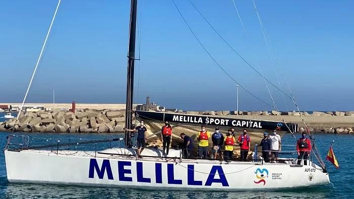 La tripulación del 'Ciudad de Melilla Sport Capital' afronta la recta final de la temporada
