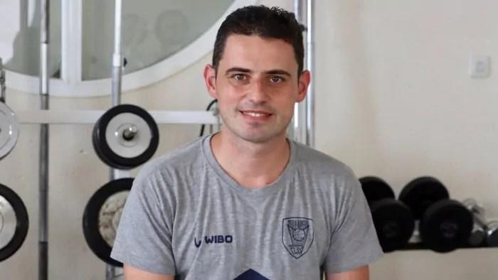 Juanfran Arias preparador físico del MSC Baloncesto