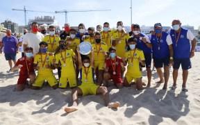Melilla juvenil fútbol playa